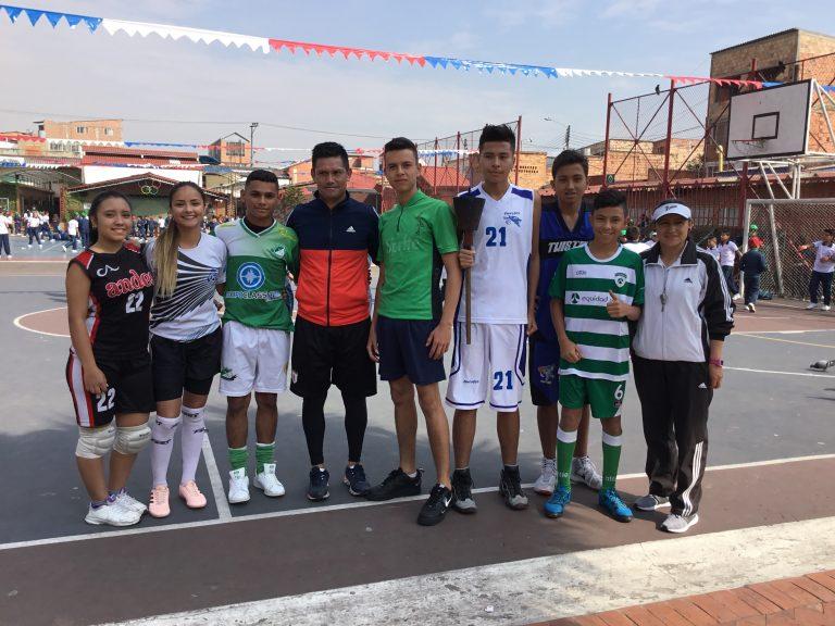 Inauguración deportiva