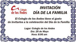 Invitación: Día de la Familia