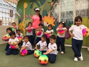 Preescolar: Inauguración de juegos deportivos