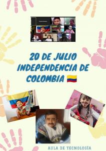 Preescolar: Celebración día de la Independencia, 20 de julio