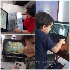 Preescolar: Explorando el mundo desde casa