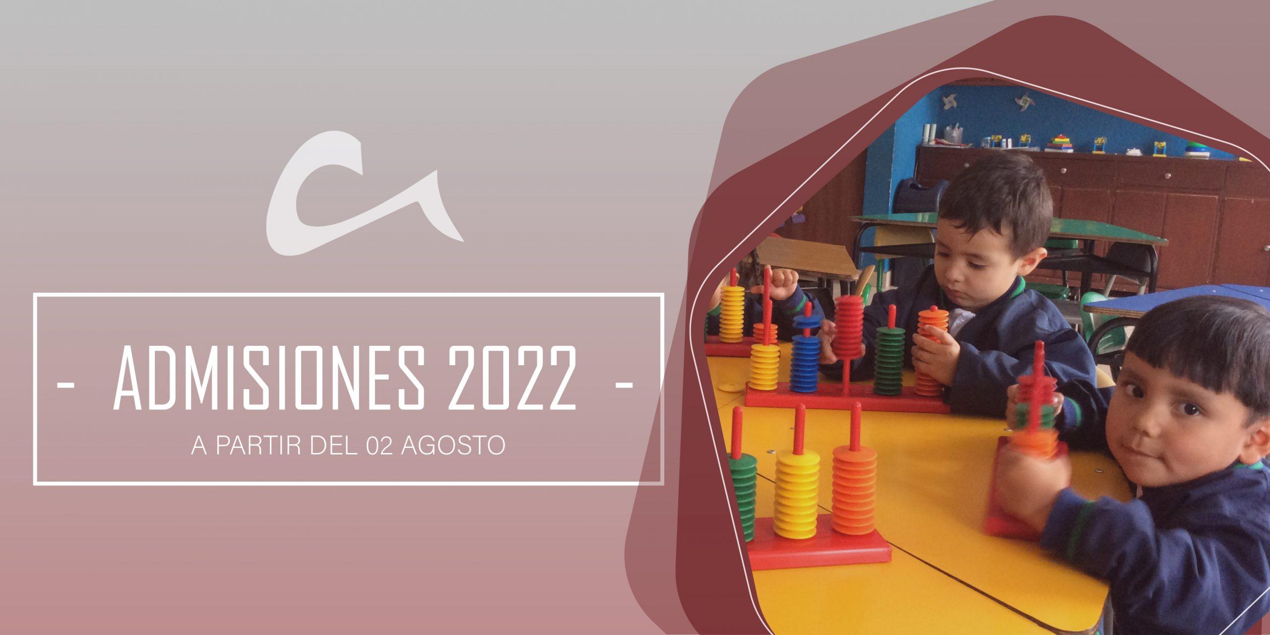 ADMISIONES-2022
